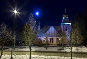 Padasjoen kirkko Seppo Poikolainen